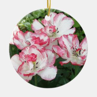 Macro Flower Christmas Ornament