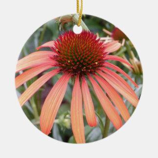 Macro Flower Christmas Tree Ornaments