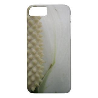 Macro Flower in White iPhone 7 Case