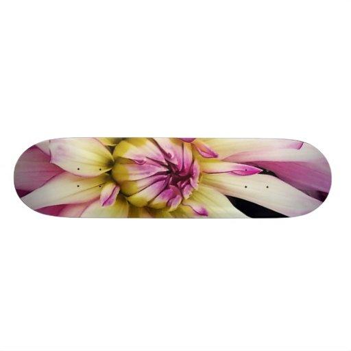 Macro Flower Skateboard Deck