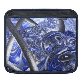 Macro Glass And Steel Bands iPad Sleeve