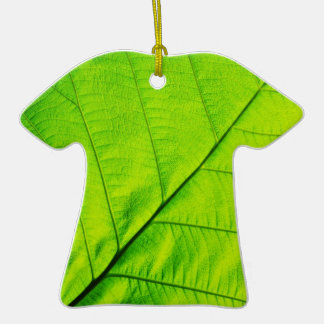 Macro Green leaf Ornaments