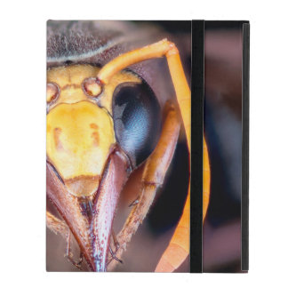 Macro Hornet Insect iPad Cover