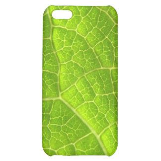 Macro leaf iPhone 5C cover
