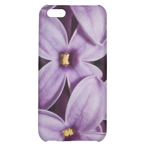 Macro Lilacs iPhone 5C Cases