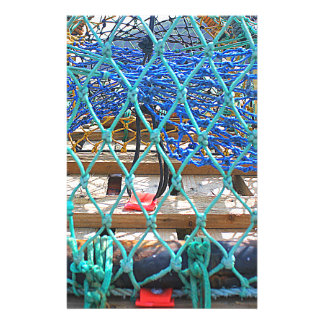 Macro Lobster pots Personalized Stationery
