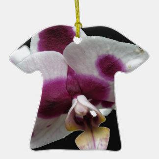 Macro Orchid Christmas Ornaments