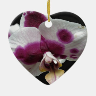 Macro Orchid Christmas Tree Ornaments