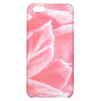 Macro pink flower petals cover for iPhone 5C