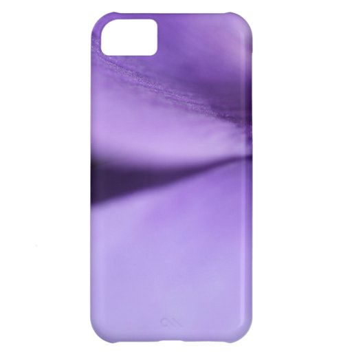 Macro Purple Petals iPhone 5C Covers