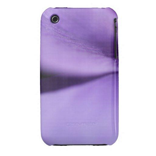 Macro Purple Petals iPhone 3 Case-Mate Cases