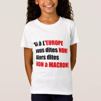 Macron = Europe = Globalisation - Kids tee
