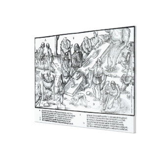 MacSweeney's Feast Stretched Canvas Print