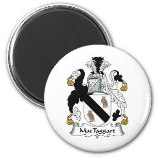 MacTaggart Family Crest 6 Cm Round Magnet