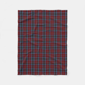 MacTavish Clan Tartan Plaid Fleece Blanket