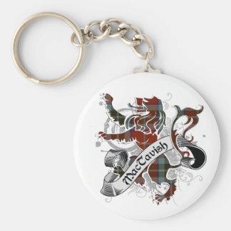 MacTavish Tartan Lion Keychain