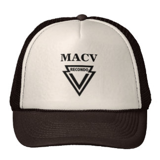 MACV RECONDO Hat with MAC-V RECONDO Patch