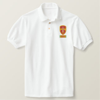 MacV Vietnam Logo Embroidered Polo Shirts