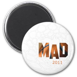 Mad 2011 - Basketball 6 Cm Round Magnet