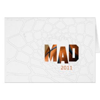 Mad 2011 - Basketball Greeting Card