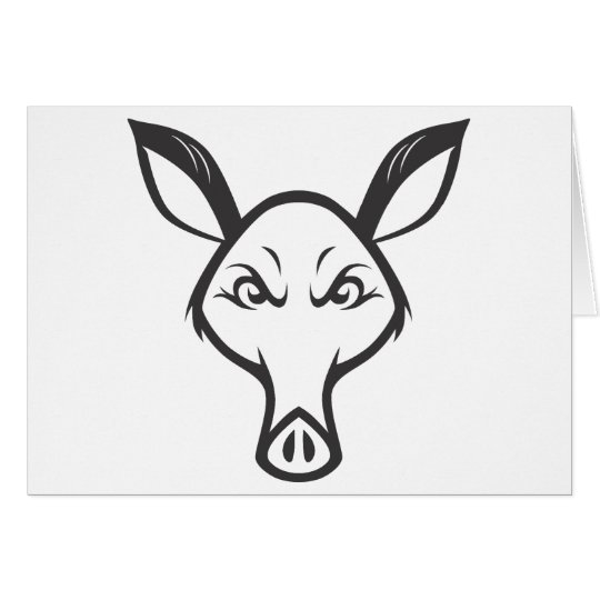 Mad Aardvark Card