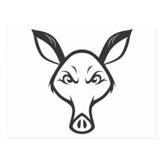 Mad Aardvark Postcard