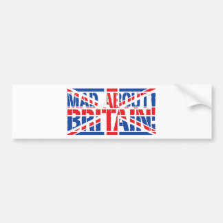 Mad About Britain Bumper Stickers