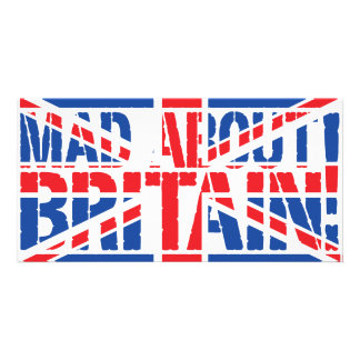 Mad About Britain Customised Photo Card