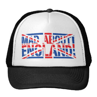 Mad About England Trucker Hats