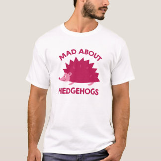 Mad About Hedgehogs T-Shirt