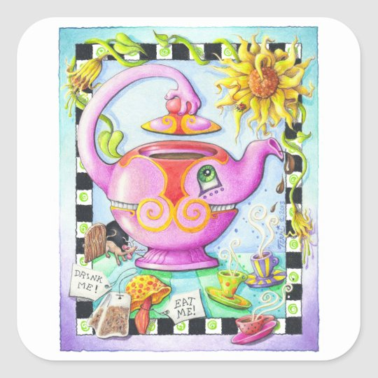MAD ABOUT TEA PARTY STICKERS