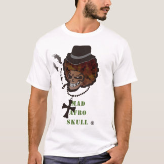 MAD AFRO SKULL T-Shirt