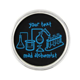 Mad Alchemist Laboratory Lapel Pin