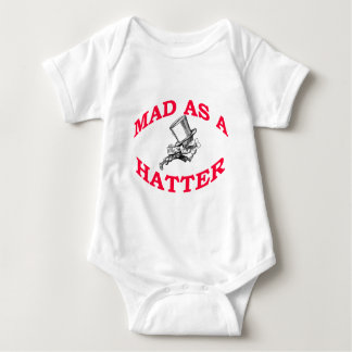 Mad As A Hatter Baby Bodysuit