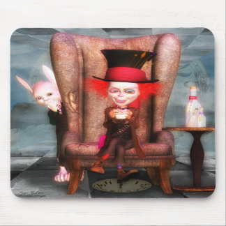 Mad As A Hatter Fine Art On A Mousepad
