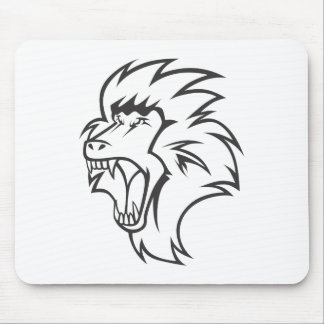 Mad Baboon Mouse Pad