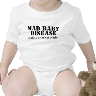 Mad Baby Disease infant creeper