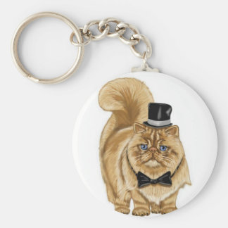mad cat, coffee cup, cel phone case basic round button key ring