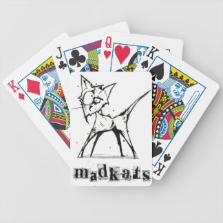 Mad Cats Bicycle Playing Cards