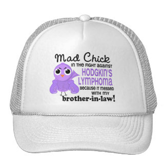 Mad Chick 2 Brother-In-Law Hodgkin's Lymphoma Mesh Hat