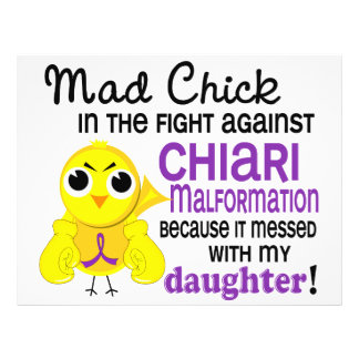 Mad Chick 2 Chiari Malformation Daughter Flyers