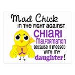 Mad Chick 2 Chiari Malformation Daughter Postcard