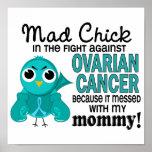 Mad Chick 2 Mummy Ovarian Cancer Print