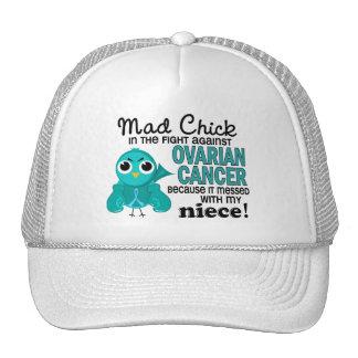 Mad Chick 2 Niece Ovarian Cancer Trucker Hat