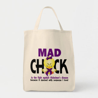 Mad Chick In The Fight Alzheimer's Disease