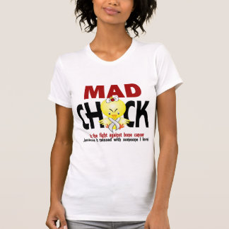 Mad Chick In The Fight Bone Cancer Shirt