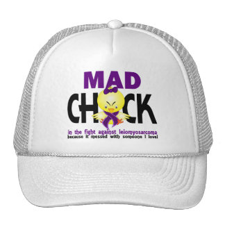 Mad Chick In The Fight Leiomyosarcoma Mesh Hat