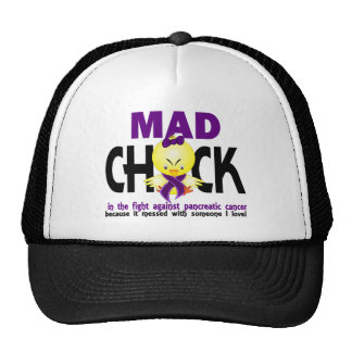 Mad Chick In The Fight Pancreatic Cancer Cap