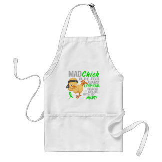 Mad Chick Messed With Aunt 3 Lymphoma Standard Apron