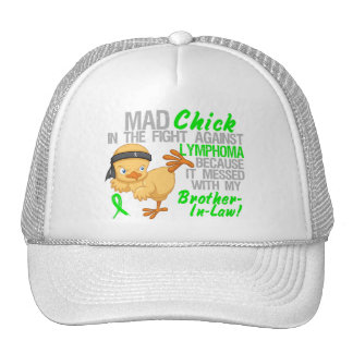 Mad Chick Messed With Brother-In-Law 3 Lymphoma Trucker Hats